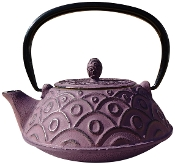 Cast Iron Kyoto Teapot, Greek Wine