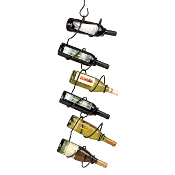 Climbing Tendril Wine Holder
