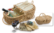 Eco Wine & Cheese Basket