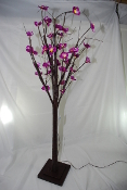 Decorative LED Light Flower Tree - Orange