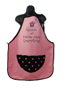 Wild Hare Designs Apron - Queen of Damn Near Everything