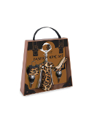 Wild Eye Designs Leopard Print Wine Accessory Set