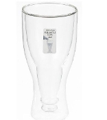 Ganz Upside Down Beer Glass
