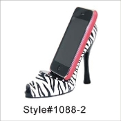 Cell Phone High Heel Shoe Holder