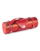 Red Glitter Wine Carrier