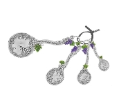Grape Measuring Spoon Set 2014 Design