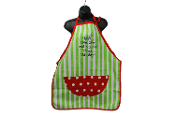 Christmas Apron - Go Ahead and Put Me Under 'Naughty'