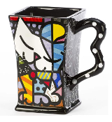 Romero Britto Square Mugs
