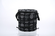 Sachi Pop Up Insulated Cooler in Black or Red