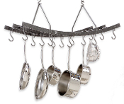 Reverse Hanging Pot Rack