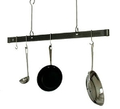 Offset Hook Ceiling Bar Rack- 36""