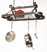 All Scrolls Hanging Pot Rack