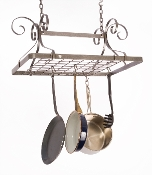 Décor Rectangular Hanging Pot Rack
