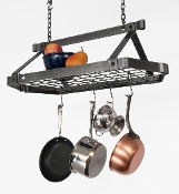 Retro Rectangular Hanging Pot Rack