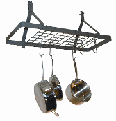 Ceiling Bar Hanging Pot Rack