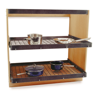 Cookware Shelving Unit