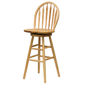 "30"" Windsor Swivel Stool, Single, RTA"
