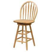 "24"" Windsor Swivel Stool, Single, RTA"
