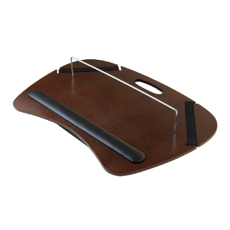 Kane Lap Desk with Cushion and Metal rod