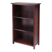 Milan Storage Shelf or Bookcase 4-Tier- Medium
