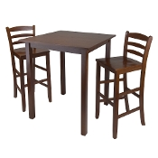 "Parkland 3-Pc High Table with 29"" Ladder Back Stool"