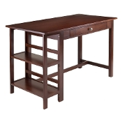 Velda Writing Desk with 2 Shelves