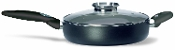 Pensofal Platino Straight Skillet with Aroma Glass Lid, 11""