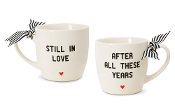 Still in Love After All These Years. Anniversary Coffee Mug Set