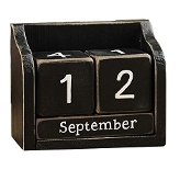 Giftcraft Desk Block Calendar