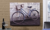 Gift Craft Framed Canvas Print, Bicycle