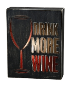 Light Box, Drink More Wine