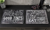 Chalk Talk Glass Cutting Board, Choice of two
