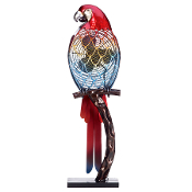 Figurine Fan- Parrot - Color