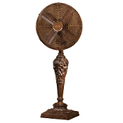 "12"" Deco Table Top Fan Cantalonia"