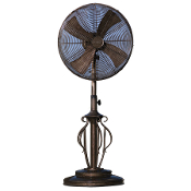 "18"" Deco Adjustable Outdoor Standing Fan-Capri"