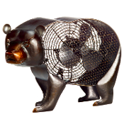 Figurine Fan-Black Bear