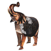 Figurine Fan - African Elephant