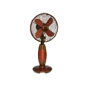 "10"" Table Fan - Hammered Copper"