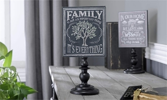 Giftcraft Table Stand Decorative Sign