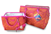 Sachi Lunchin' Ladies 2-Piece Tote and Lunch Bag Set