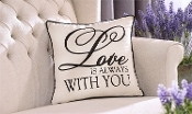 Love is Always With you, Decorative Throw Pillow