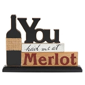 You Had Me at Merlot Tabletop