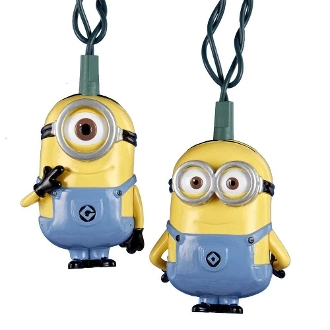 Despicable Me 2 Minions Outdoot Light String Set