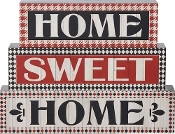 Home Sweet Home Decorative Block Set