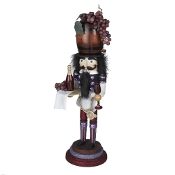 "Kurt Adler 19"" Hollywood Wine Nutcracker"