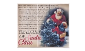 Giftcraft, The Legend of Santa Claus Wall Plaque