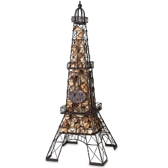 Epic Products Cork Cage, 25-Inch, Eiffel Tower