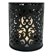 Flipo Montrose Scroll Sconce, Black