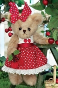 Bearington Bear Anita Cherry