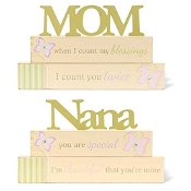 Tabletop Cutout decoration, Mom and Nana
